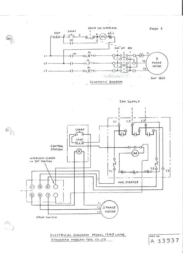 Cutler Hammer Drum Switch Wiring Diagram