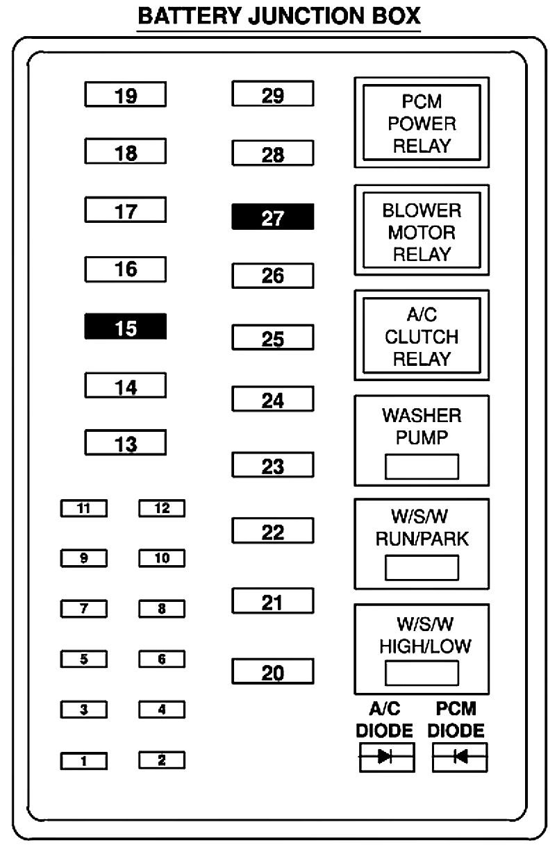 Bg 3023 Opening A 2000 F150 Fuse Box Schematic Wiring