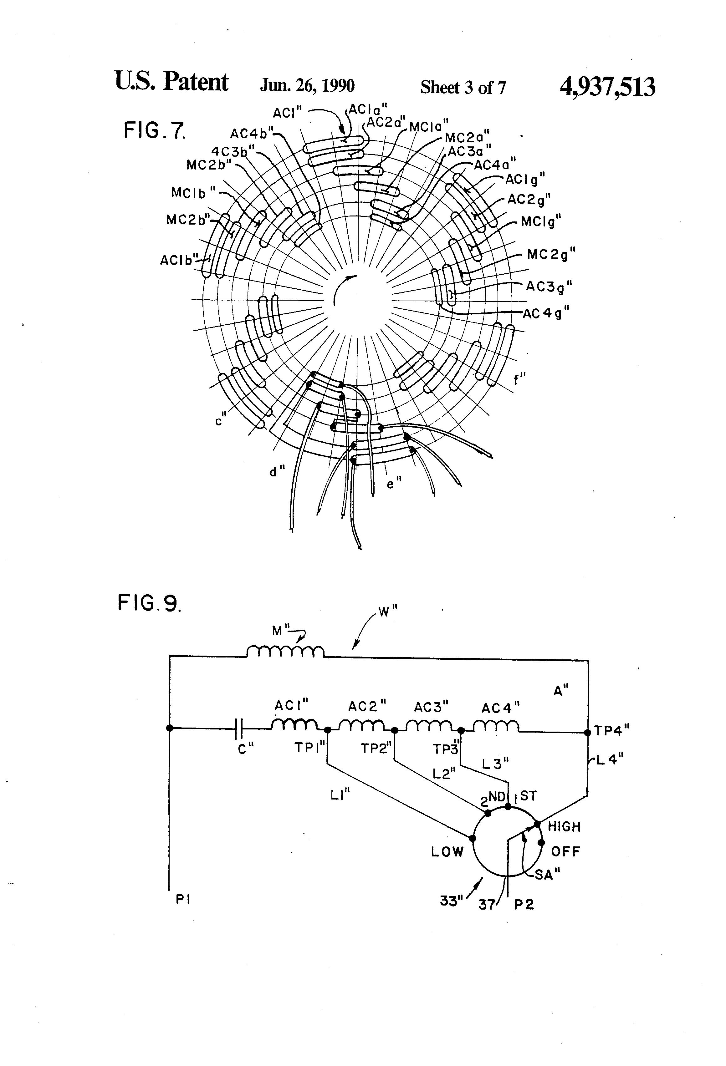 Mc 9320  Electric Desk Fan Wiring Diagram Schematic Wiring