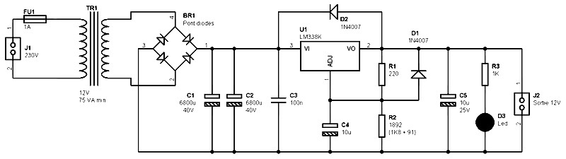 [DIAGRAM_38ZD]  CL_4107] Regulated 12 Volt Supply Circuit Diagrams Schematics Electronic Schematic  Wiring | 12 Volt Power Schematic Wiring Diagram |  | Ilari Phon Eachi Erek Scoba Mohammedshrine Librar Wiring 101