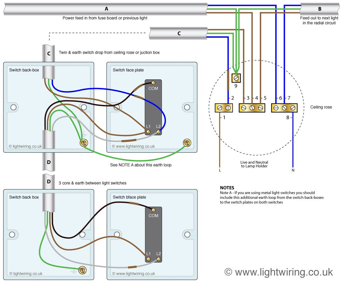 Pleasing Wiring 2 Way Switch Diagram Basic Electronics Wiring Diagram Wiring Cloud Hemtegremohammedshrineorg