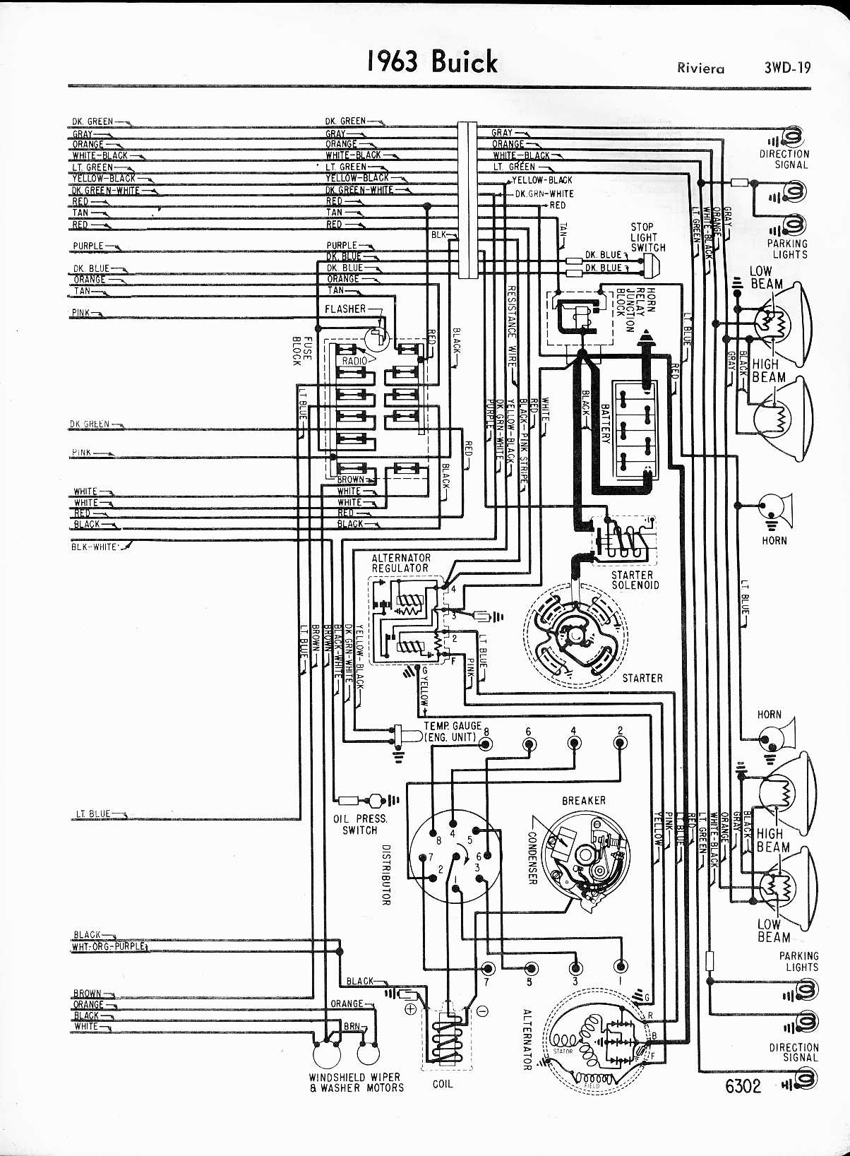 Stupendous Buick Wiring Diagrams 1957 1965 Wiring Cloud Ittabpendurdonanfuldomelitekicepsianuembamohammedshrineorg