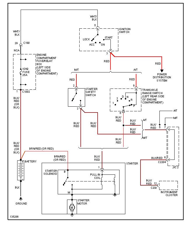 2000 Kia Sephia Wiring Schematic