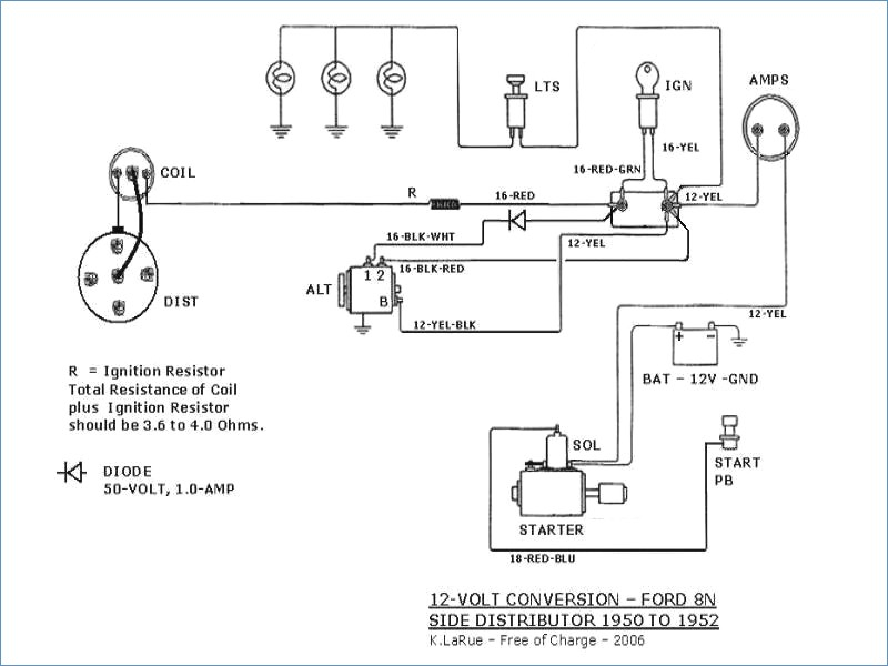 Farmall H Wiring Diagram 12 Volt