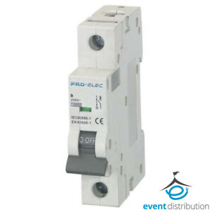 Remarkable Pro Elec 16 Amp Mcb B Type Single Pole 1P Sp B Curve 16A Circuit Wiring Cloud Dulfrecoveryedborg