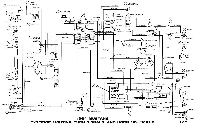 Surprising 65 Mustang Wiring Diagram Wiring Diagram B2 Wiring Cloud Hemtshollocom