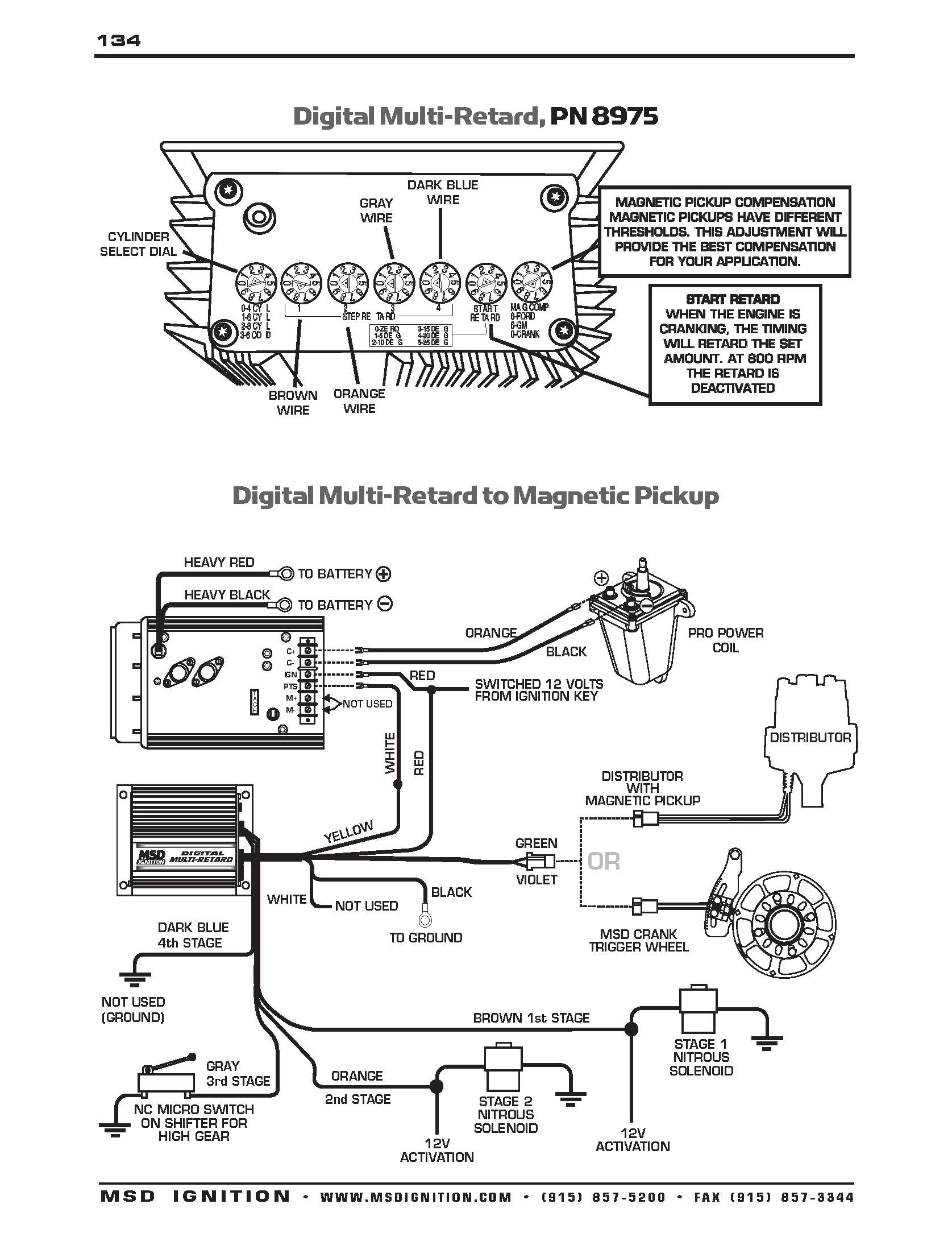 Msd Ignition Wiring Diagram 7al3