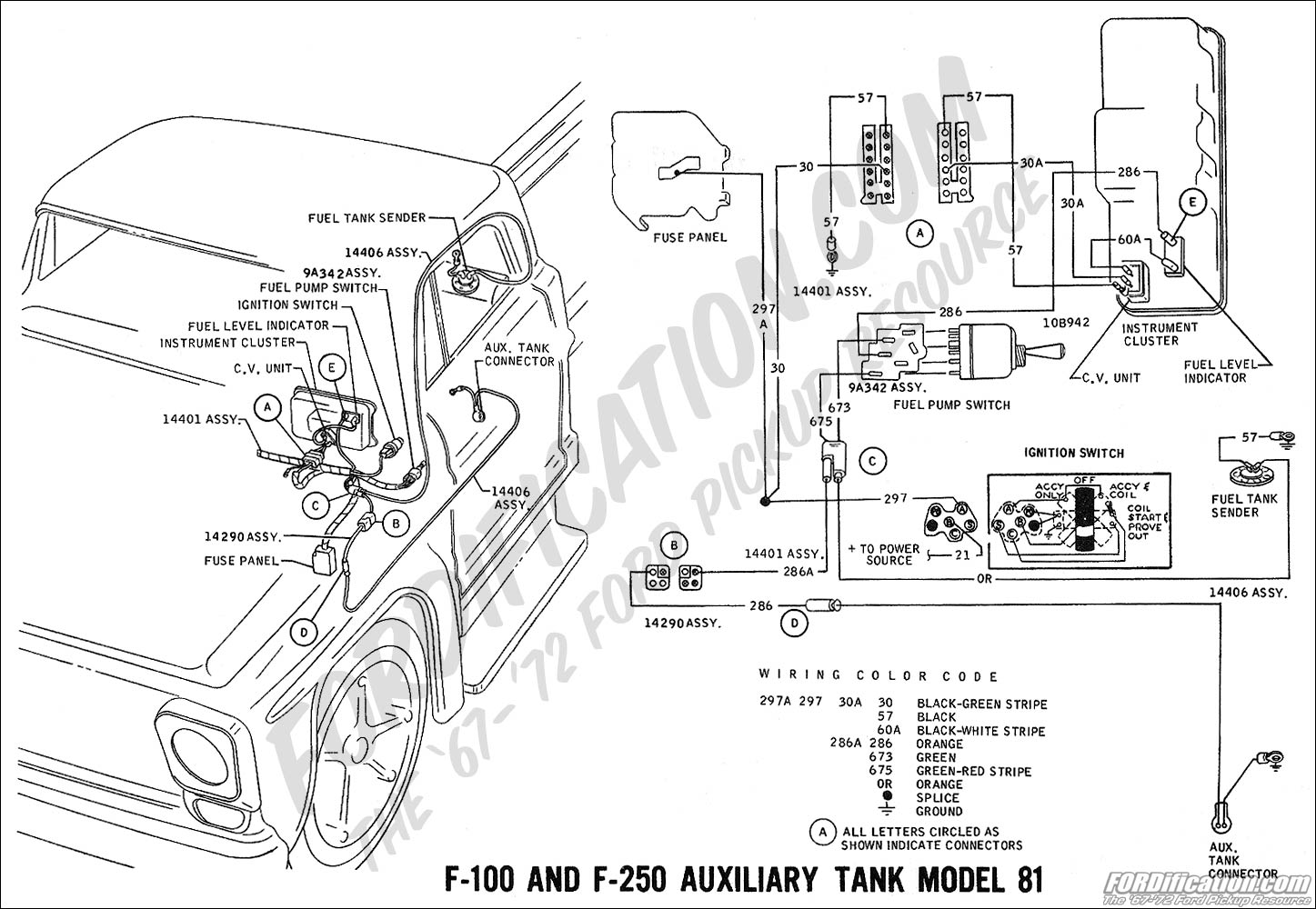 mf 3758  fuel system further ford f100 wiring diagrams on