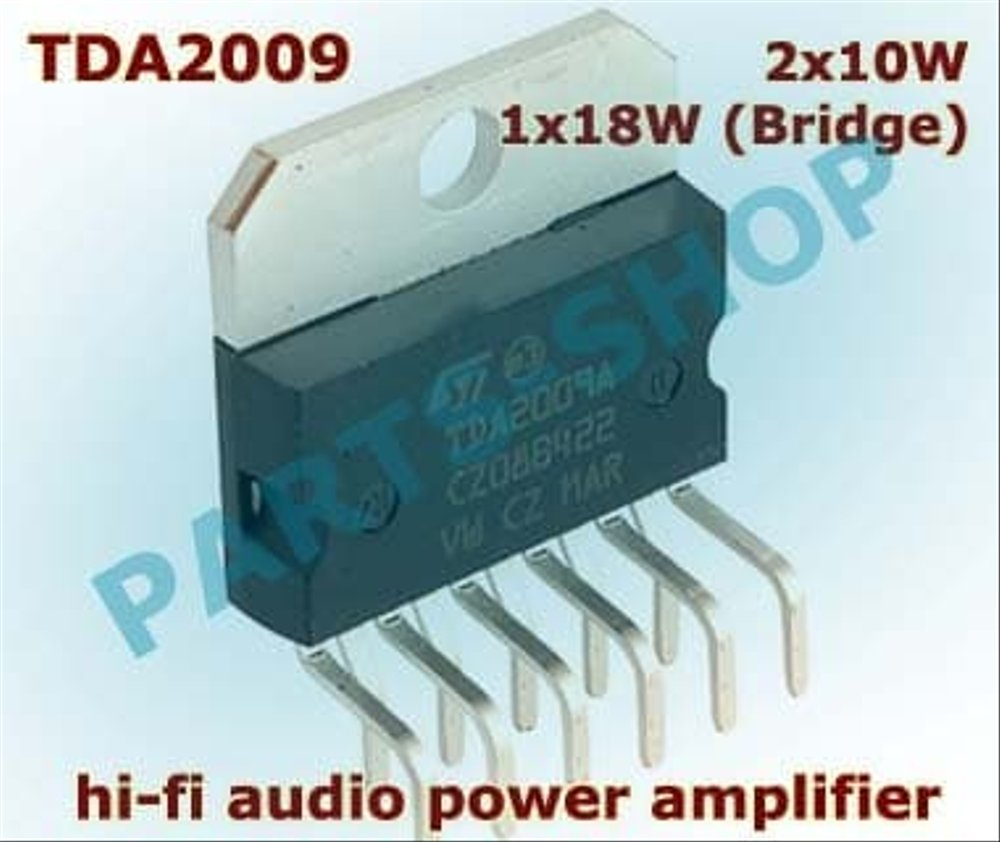 Admirable Jual Tda2009A Hi Fi Audio Power Amplifier 2 X 10W 1 X 18W Tda2009 Wiring Cloud Hemtegremohammedshrineorg