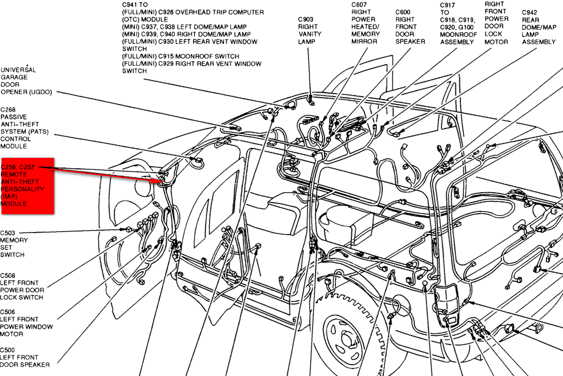 2000 expedition wiring diagram xe 3971  2001 ford expedition radio wiring diagram wiring diagram  2001 ford expedition radio wiring