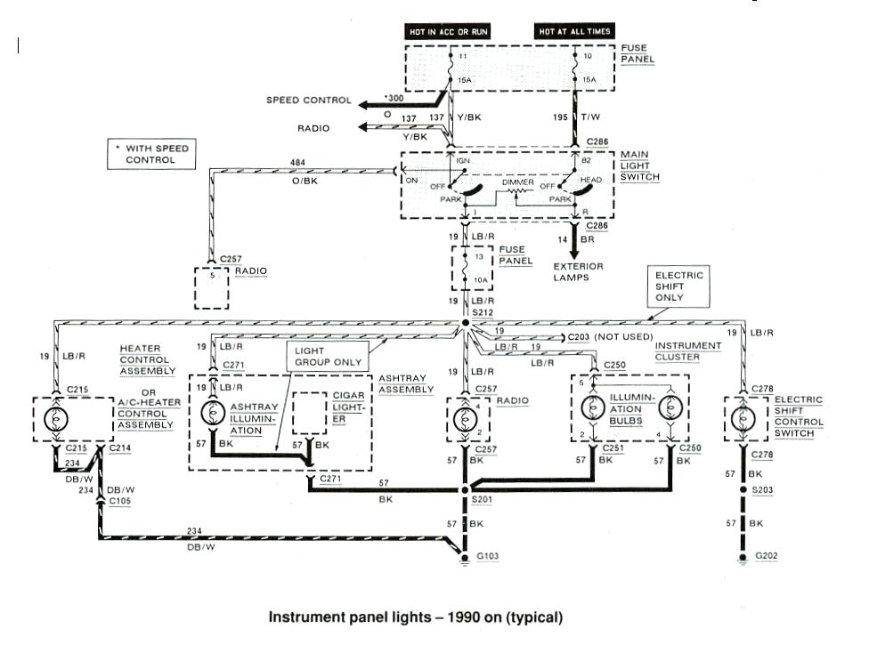 97 Ford Expedition Factory Amp Wiring Diagram