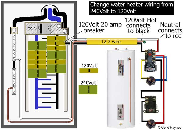 Tg 1289 Water Heater Element Wiring