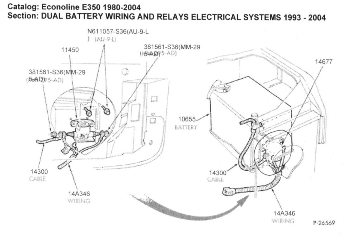 Hr 4069  Dual Battery Wiring Diagram Ford E350 Schematic