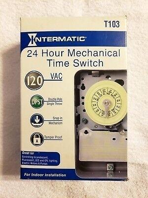 Ta 9319 Intermatic Swimming Pool Time Clock 110v Timer Mechanism T103m Download Diagram
