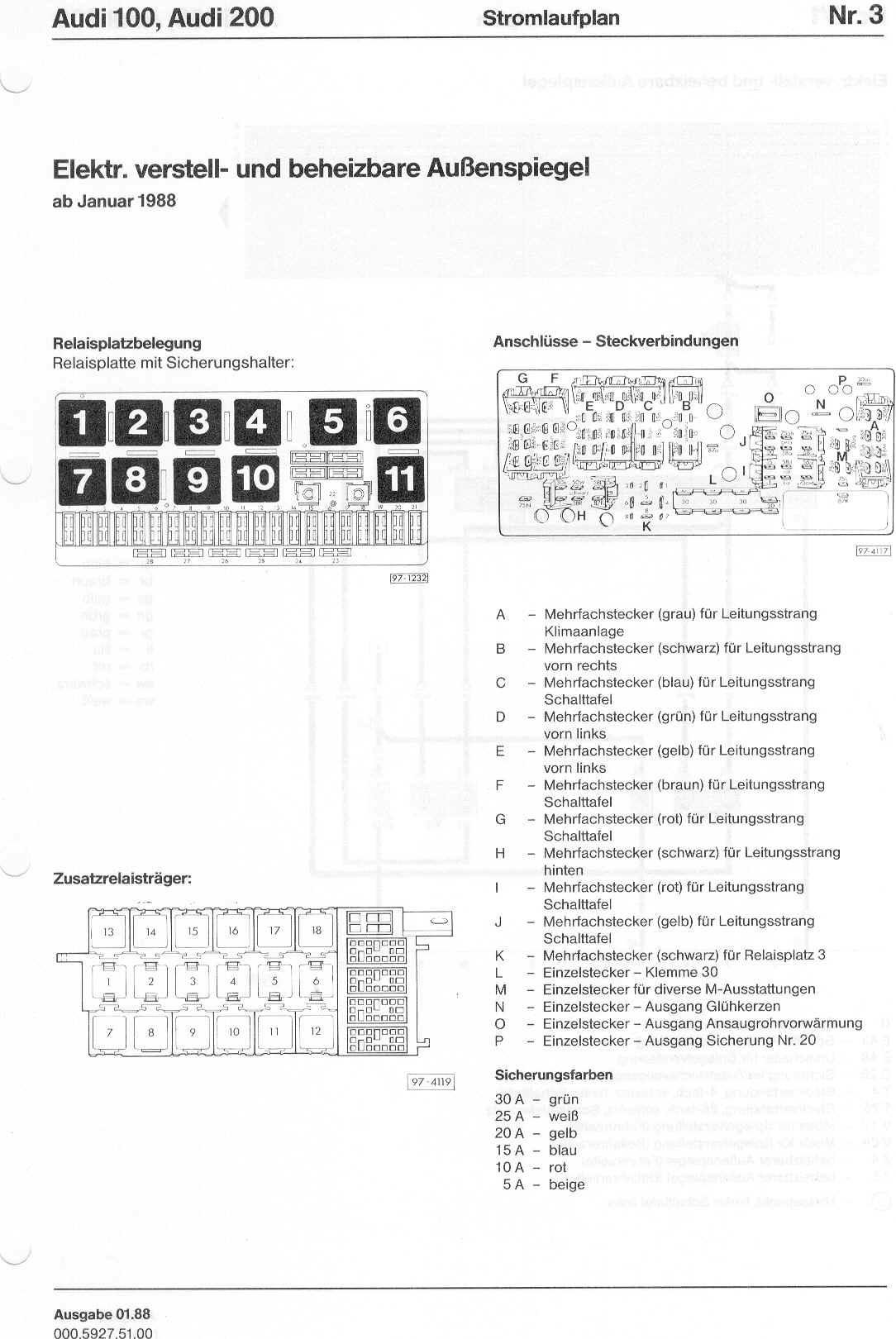 EV_1143] Audi 80 Fuse Box Diagram Free Diagram