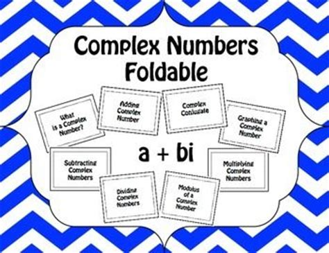 Super Math Foldable For Complex Numbers Epub Pdf Wiring Cloud Mousmenurrecoveryedborg