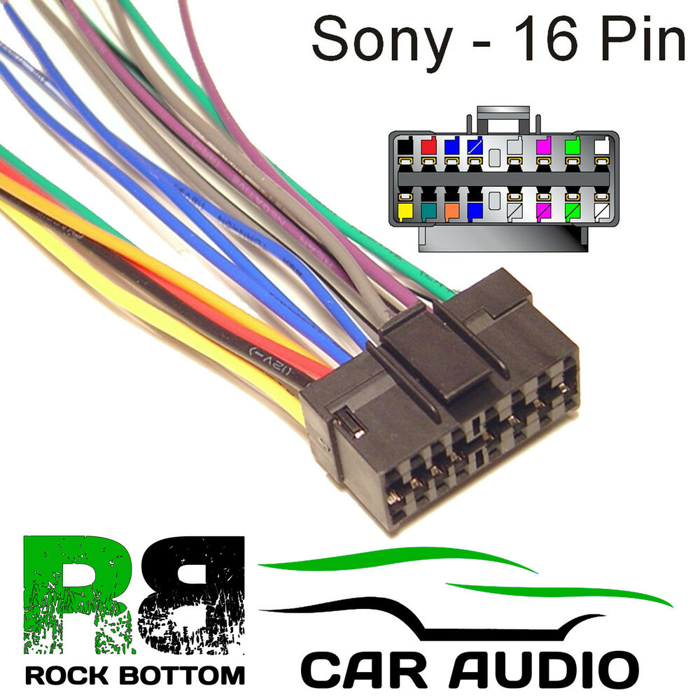 Miraculous Sony Head Unit Wiring Harness Basic Electronics Wiring Diagram Wiring Cloud Hisonepsysticxongrecoveryedborg