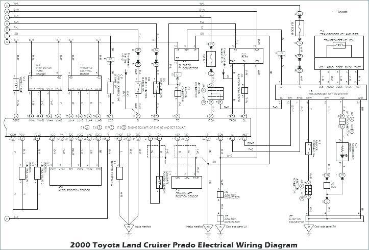 2000 Toyota Land Cruiser Prado Electrical Wiring Diagram