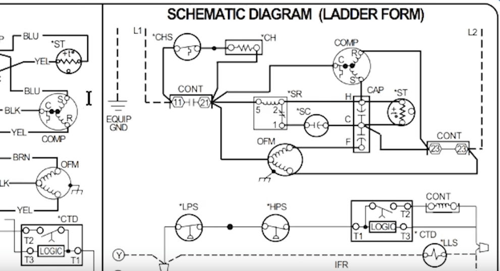 Brilliant How To Read Ac Schematics And Diagrams Basics Hvac School Wiring Cloud Timewinrebemohammedshrineorg