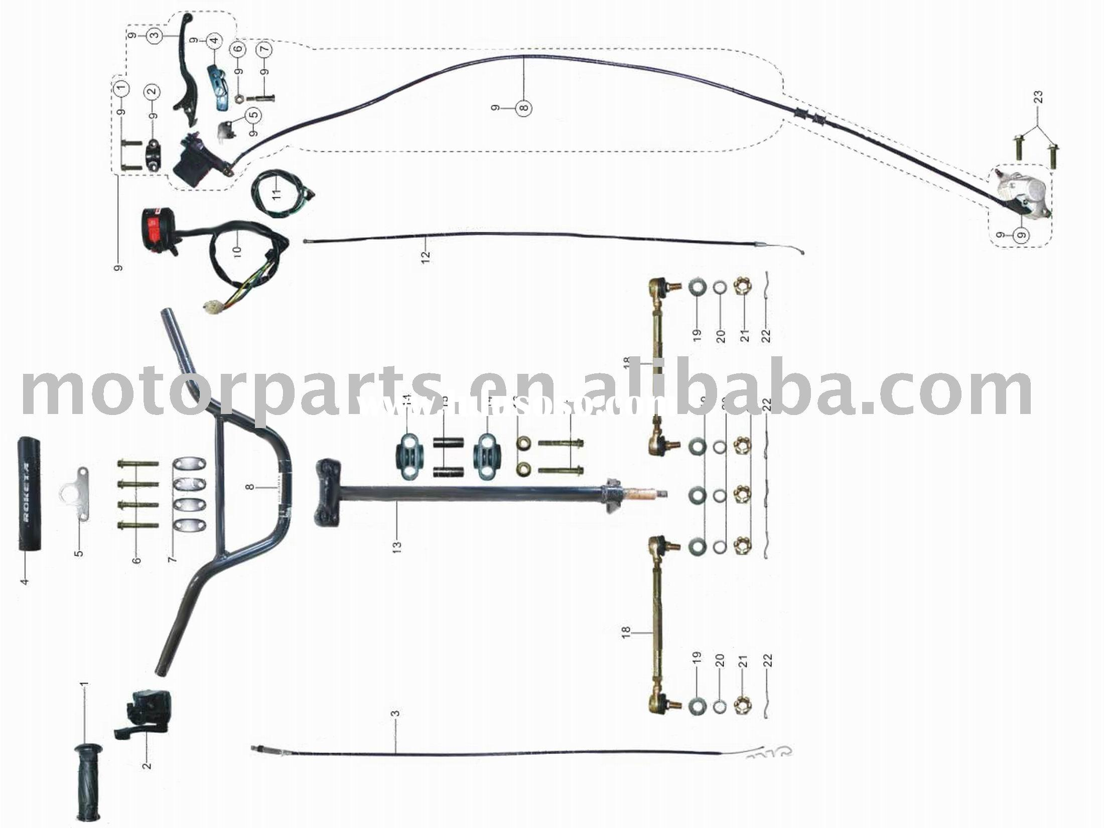 Rk 9894 Engine In Addition Chinese 110cc Atv Wiring Diagram As Well Atv Wiring Free Diagram