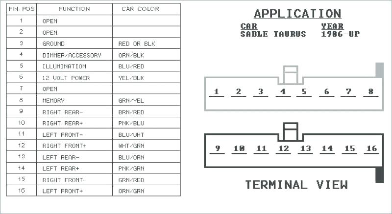 Wiring Diagram For 1998 Ford Contour