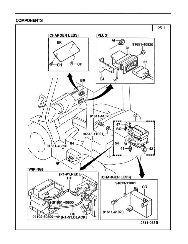 nissan forklift fuse box gl 9325  1990 toyota forklift wiring diagram free diagram  1990 toyota forklift wiring diagram