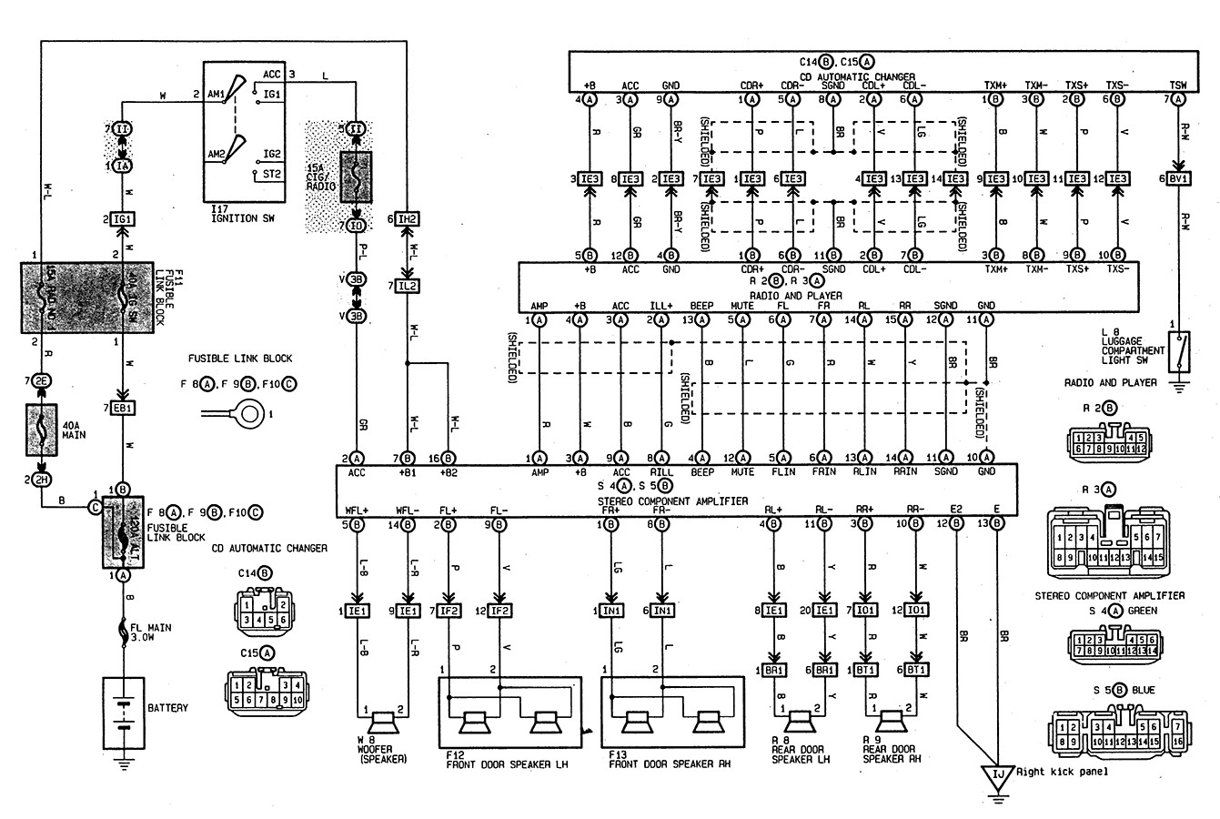 Toyota Matrix Wiring Diagram Toyota