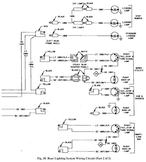 1998 Dodge Durango Tail Lights Wiring Diagram Wiring Diagram Side Regular Side Regular Bowlingronta It