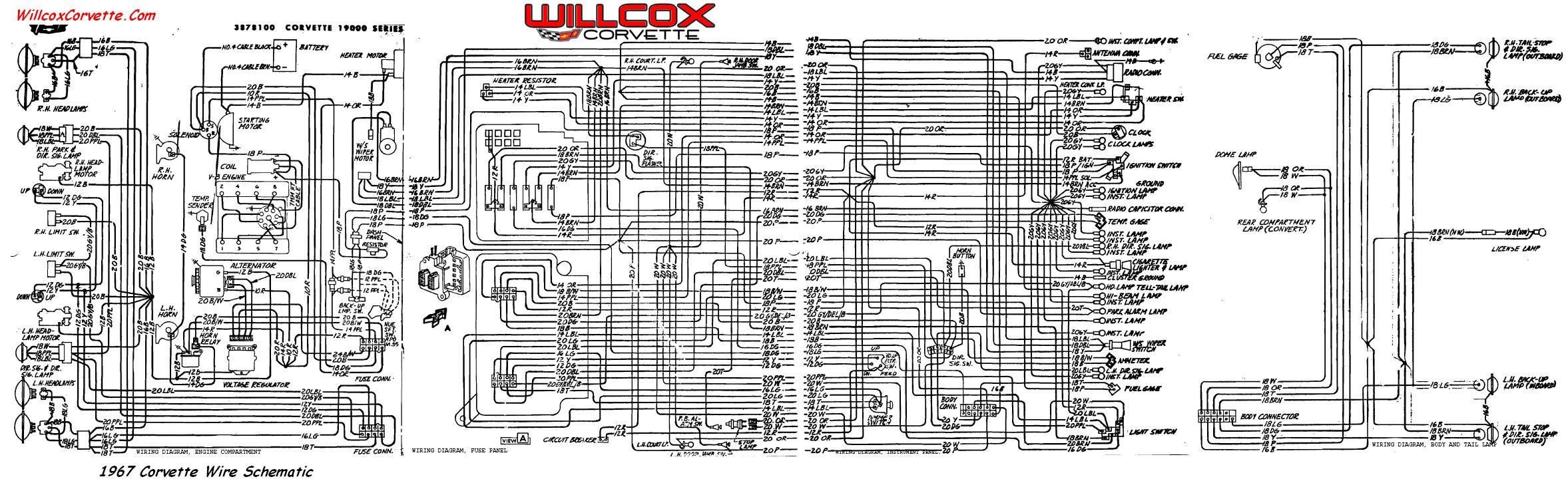 HA_0664] 1967 Corvette Wiring Diagram Tracer Schematic Willcox Corvette  Download DiagramBedr Monoc Majo Umize Penghe Isra Mohammedshrine Librar Wiring 101