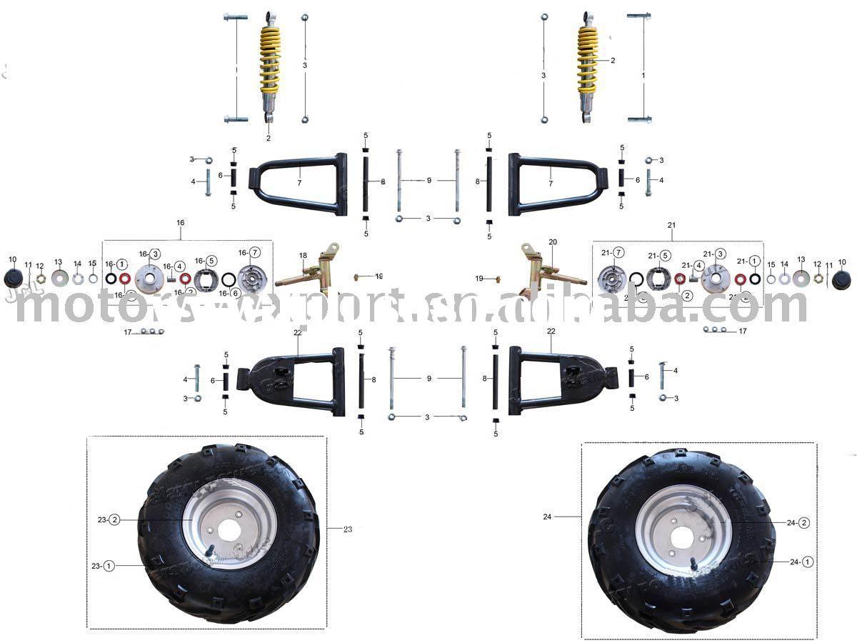 110cc 4 Wheeler Engine Diagram Taurus 1911 Schematic Begeboy Wiring Diagram Source