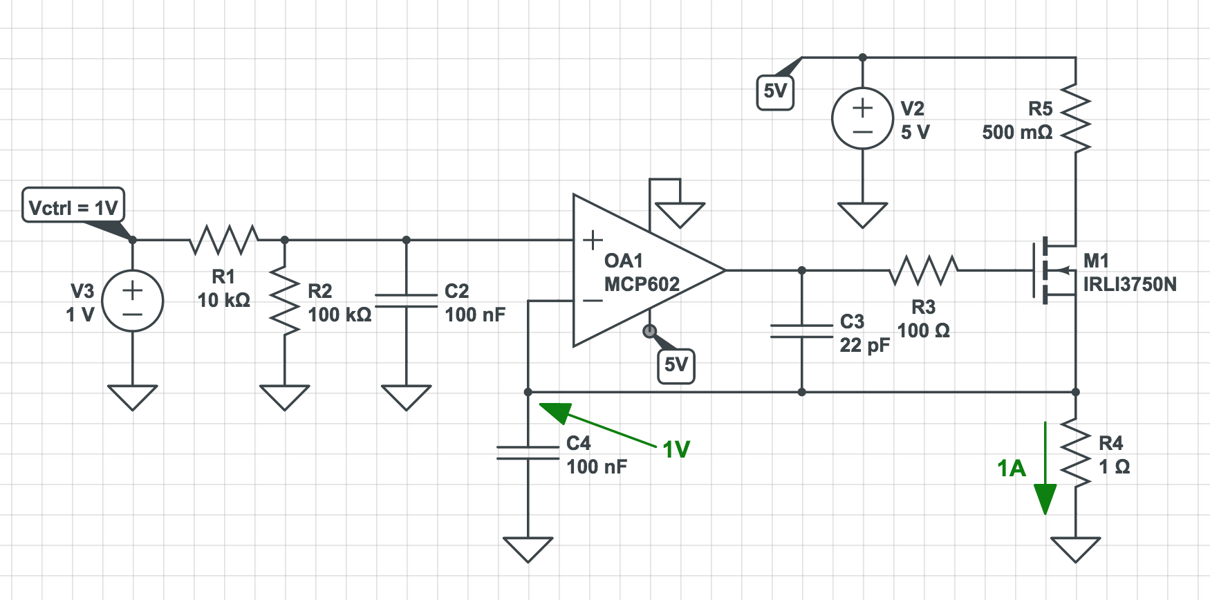 Pleasant Voltagecontrolled Current Source Circuit Diagram Tradeoficcom Wiring Cloud Eachirenstrafr09Org