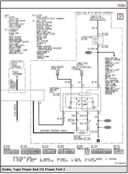 Vm 9405  Wiring Diagram Further 2015 Mitsubishi Outlander