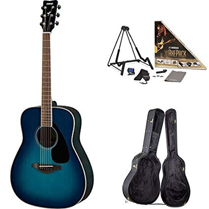Surprising Amazon Com Yamaha Fg820 Acoustic Guitar Sunset Blue With Yamaha Wiring Cloud Timewinrebemohammedshrineorg