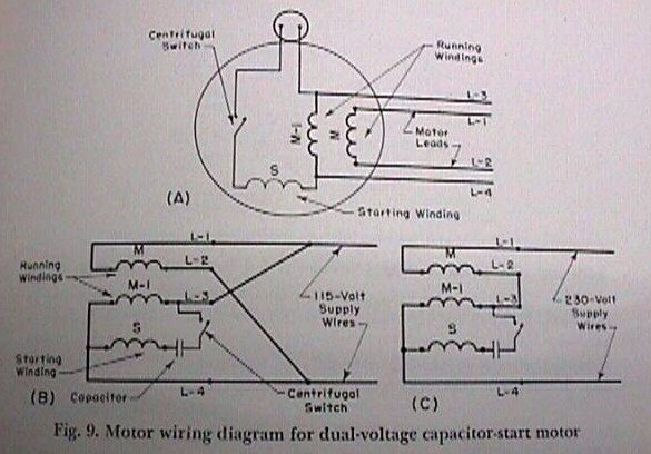 Sb 5455 220 Single Phase Motor Wiring Plug Free Diagram