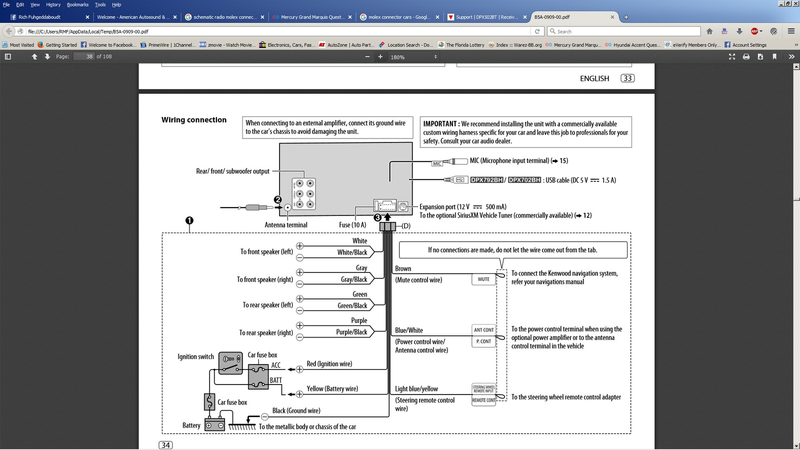40 Mercury Grand Marquis Wiring   discus expectat My Wiring ...