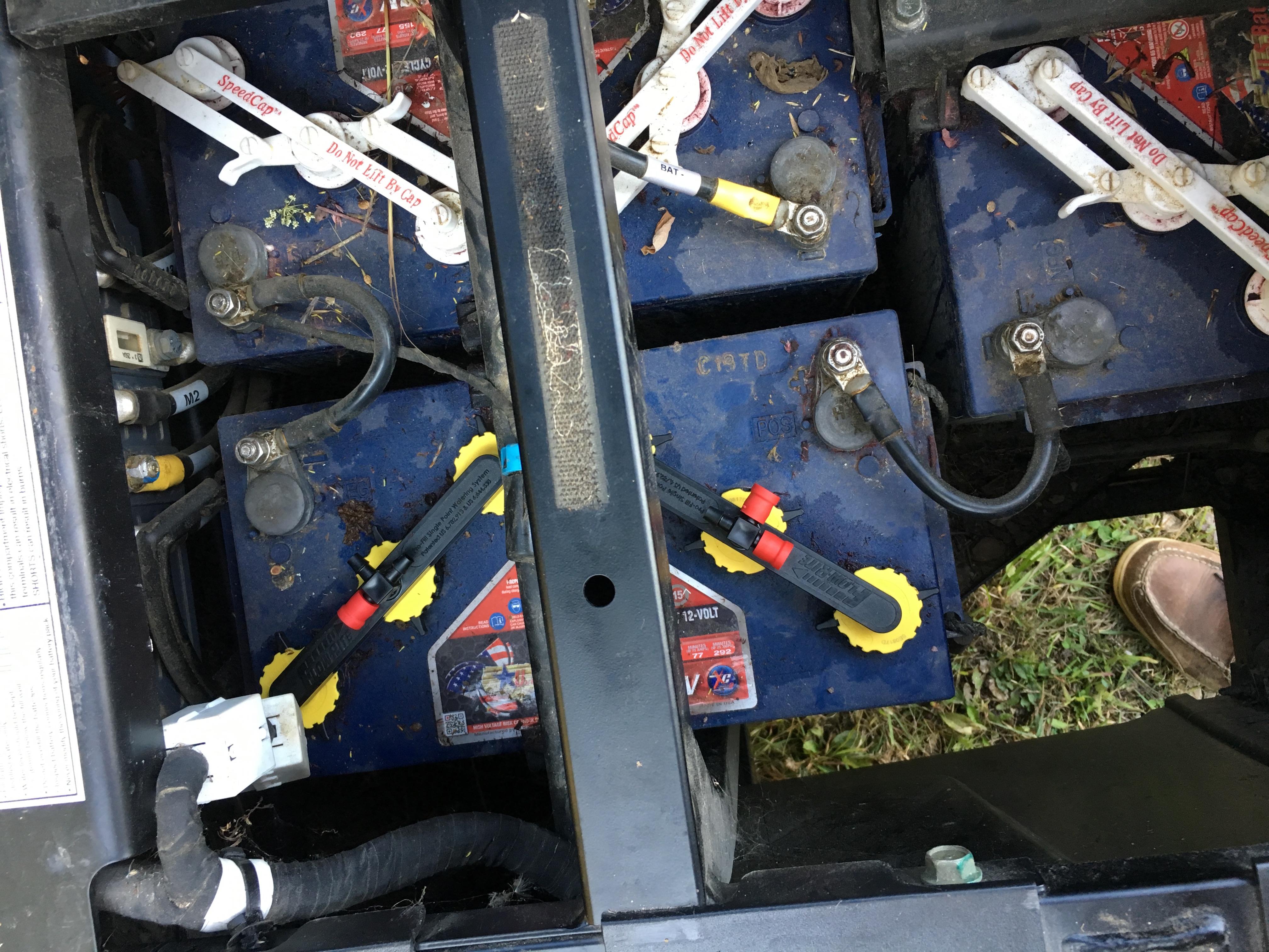 Groovy Installing Flow Rite Battery Watering In An Ev Rangerforums Net Wiring Cloud Cranvenetmohammedshrineorg
