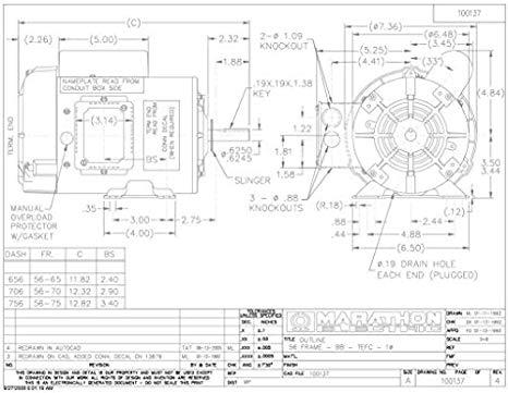 marathon electric motor 3 phase wiring diagram  integra ls