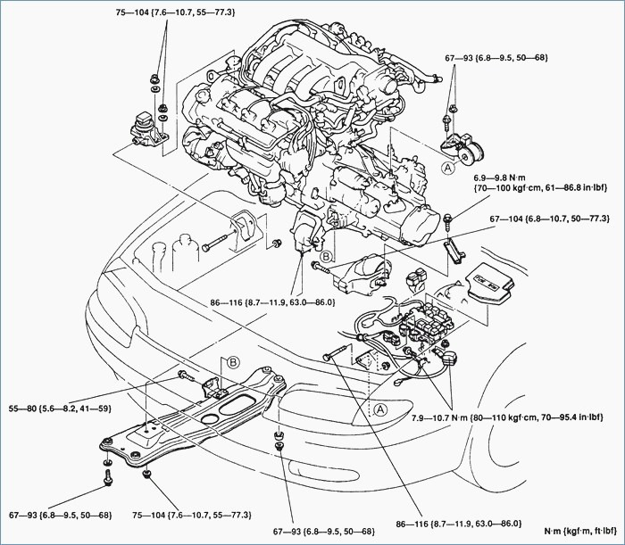 Mazda V6 Engine Diagram Wiring Diagram Frankmotors Es