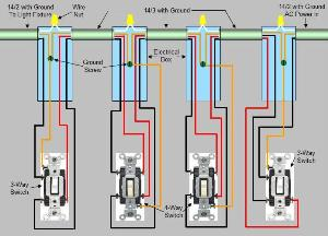 Astounding 3 Light Switch Wiring Diagram Basic Electronics Wiring Diagram Wiring Cloud Rometaidewilluminateatxorg