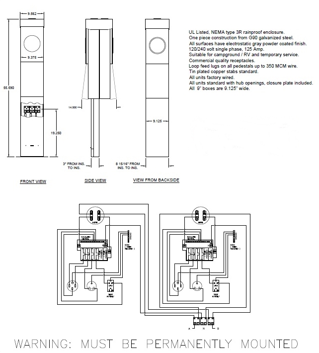 Cf 1378  30 Rv Plug Wiring Diagram Along With How To Wire Up A Dual Receptacle Free Diagram