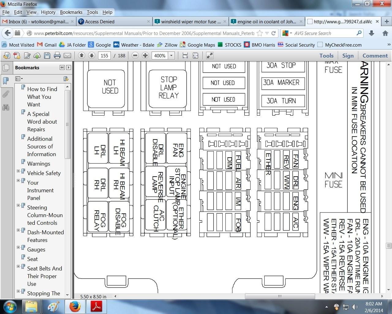 2000 Kenworth T600 Wiring Diagrams