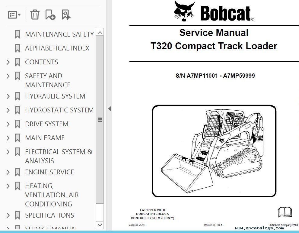 Magnificent Bobcat T320 Wiring Diagram Wiring Diagrams Wiring Cloud Faunaidewilluminateatxorg