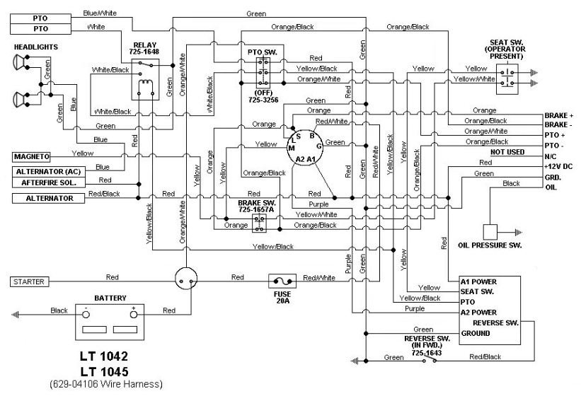 Lt 1050 Wiring Diagram - Automotive Diagrams Design component-total -  component-total.radioe.itRadio e