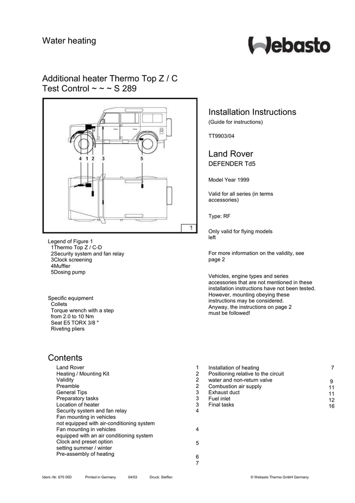 HX_6277] Webasto Thermo Top Z C D Wiring Diagram Wiring DiagramWiluq Adit Hendil Mohammedshrine Librar Wiring 101