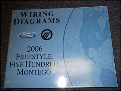 Ve 1896 Wiring Diagram For 2006 Ford Freestyle Free Diagram