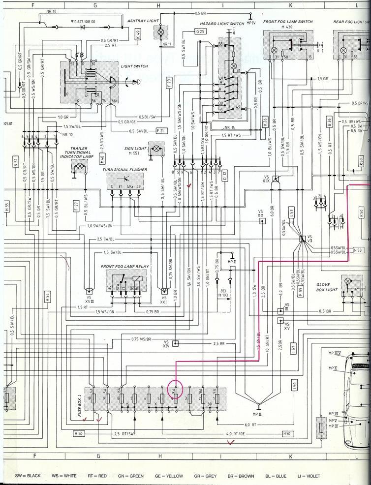 porsche 996 diagrams cz 7003  porsche 996 tail light wiring diagram schematic wiring  porsche 996 tail light wiring diagram