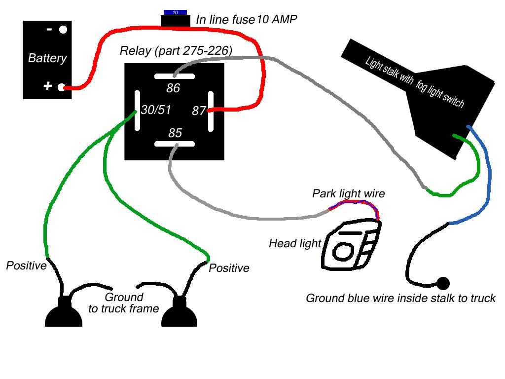 headlights to fog light relay wiring diagram auto fog light wiring diagram wiring diagram data  auto fog light wiring diagram wiring