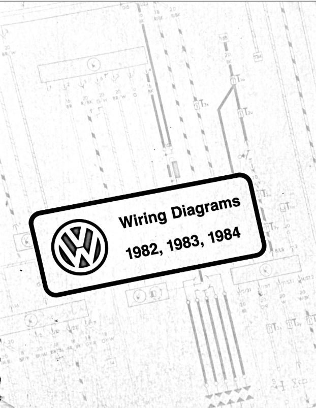 Peachy Vw Wiring Diagram Pdfs 1982 1983 1984 Chris Chemidl In Wiring Cloud Orsalboapumohammedshrineorg