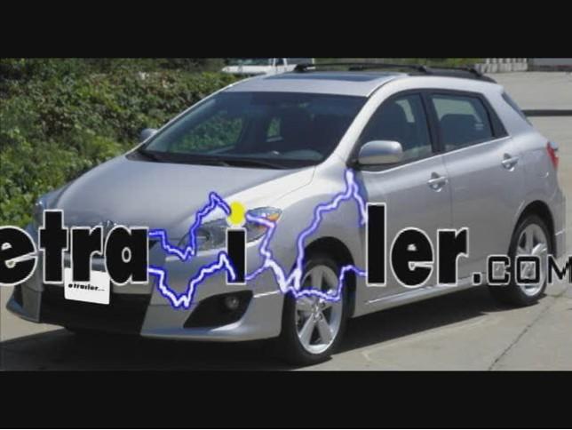 Peachy Trailer Wiring Harness Installation 2009 Toyota Matrix Video Wiring Cloud Waroletkolfr09Org