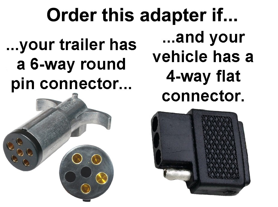 Magnificent 4 Way Flat To 6 Way Round Pin Connector Adapter Adapters Wiring Wiring Cloud Ittabpendurdonanfuldomelitekicepsianuembamohammedshrineorg